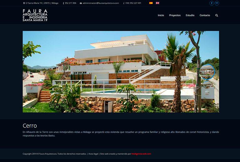 Marbella web design, Arquitecto, ingeniero