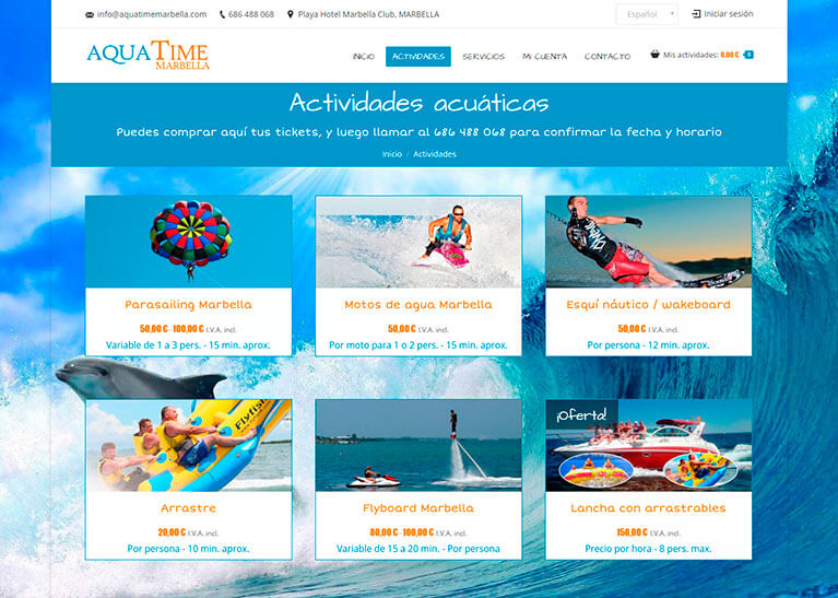 Deportes acuáticos en Marbella | Actividades