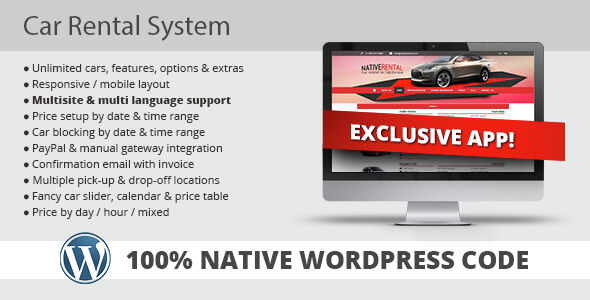 Car Rental System Wordpress